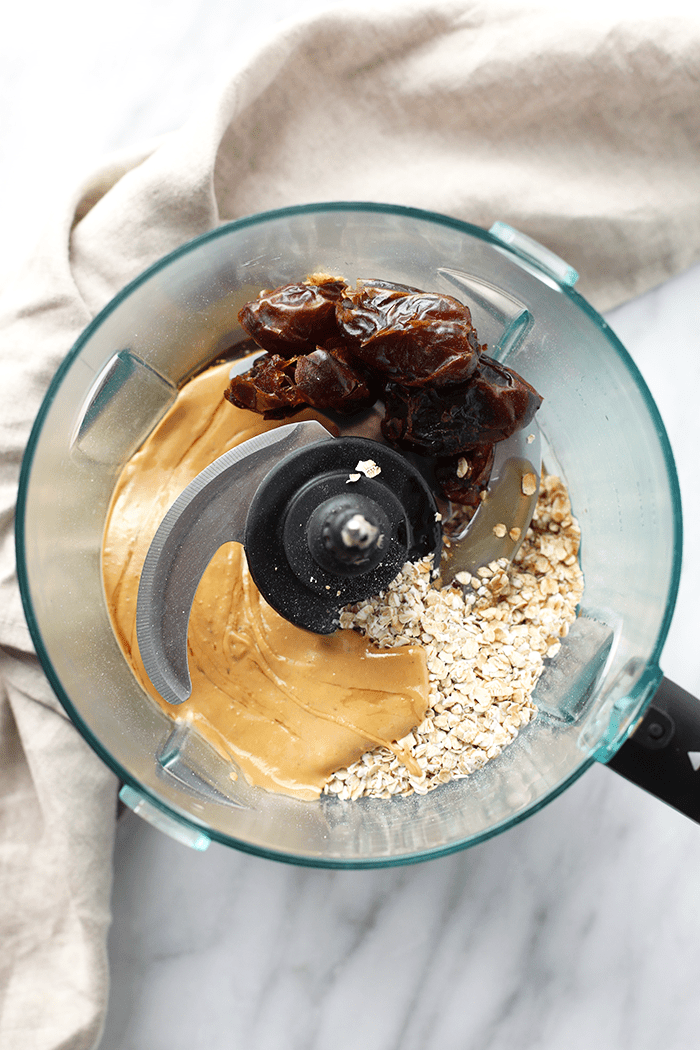 Lactation Cookies in Cuisinart Food Processor