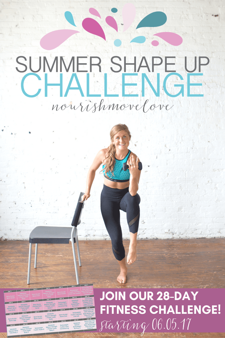 Enjoy My Free 30 Minute Ultimate Intervals Workout And Join Me In The 28 Day Summer Shape Up Challenge Starting Monday June 5th