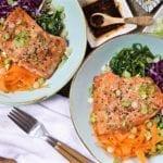 30 Minute Teriyaki Salmon Bowl with Local Crate + Surrender Salmon