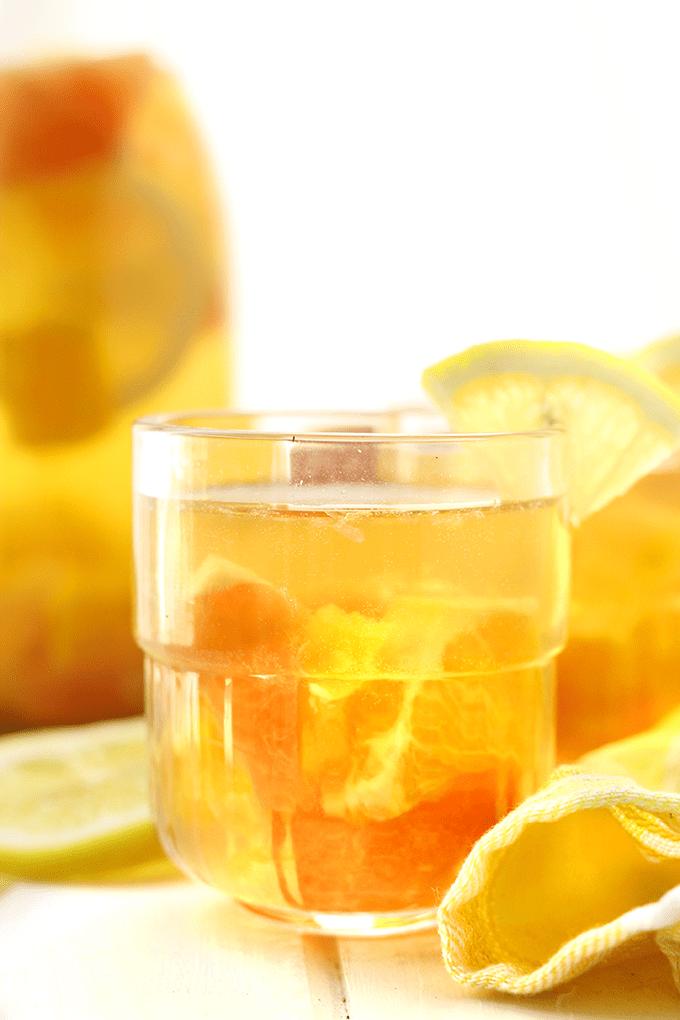 Citrus Burst Kombucha Sangria