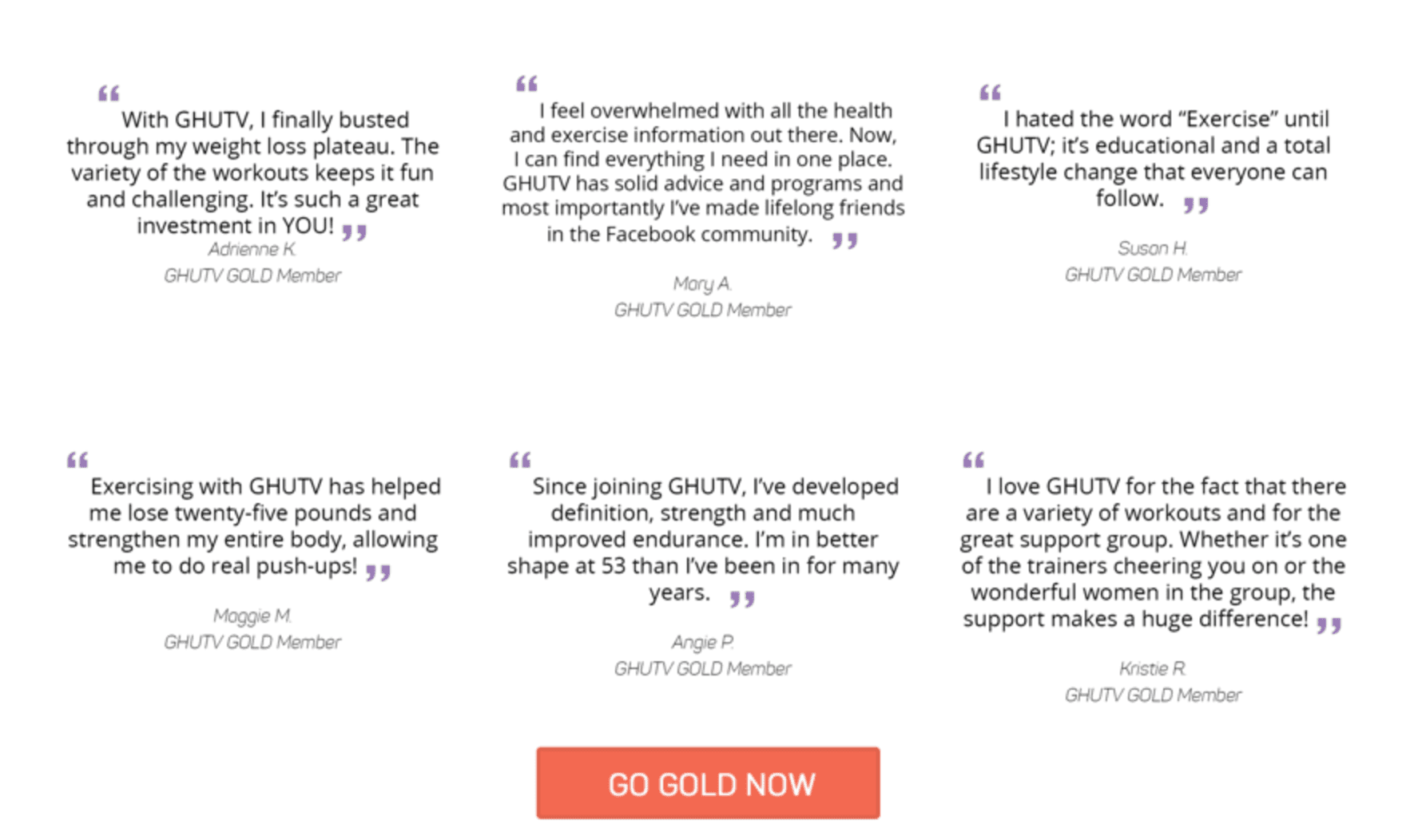 gethealthyutv.com gold membership testimonials