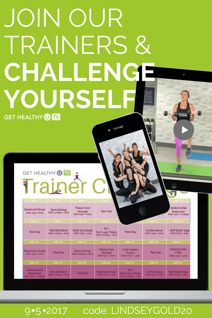 28-Day GHUTV Trainer Challenge | www.nourishmovelove.com