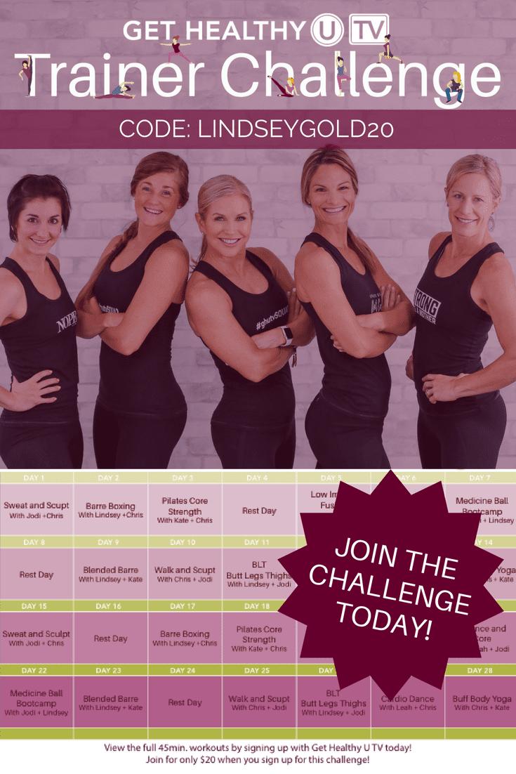 GHUTV Trainer Challenge | www.nourishmovelove.com