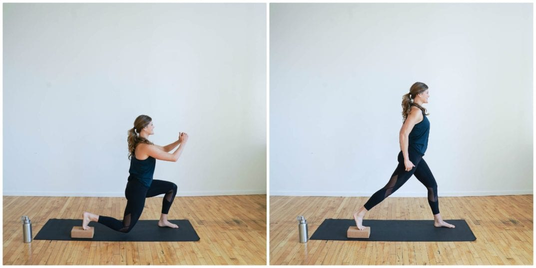 Block Lunges