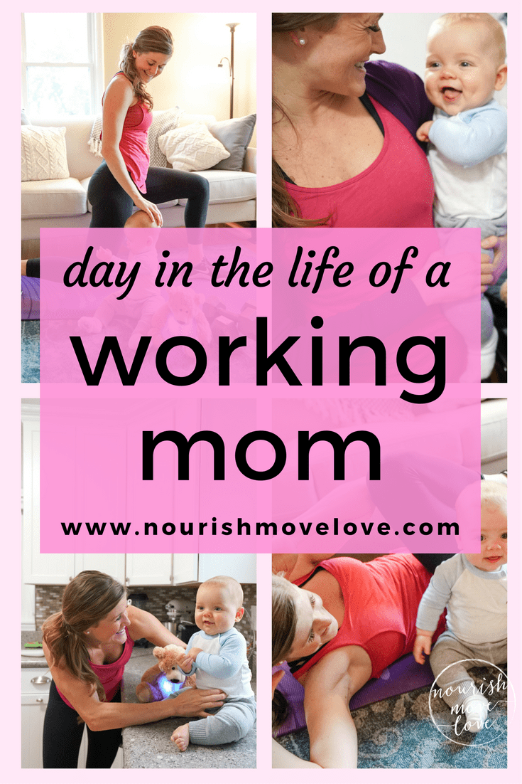Day in the Life of a Fit Mom Blogger | www.nourishmovelove.com