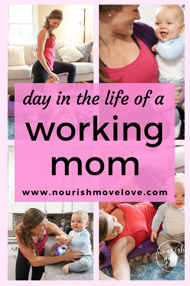 Day in the Life of a Fit Mom Blogger   www.nourishmovelove.com