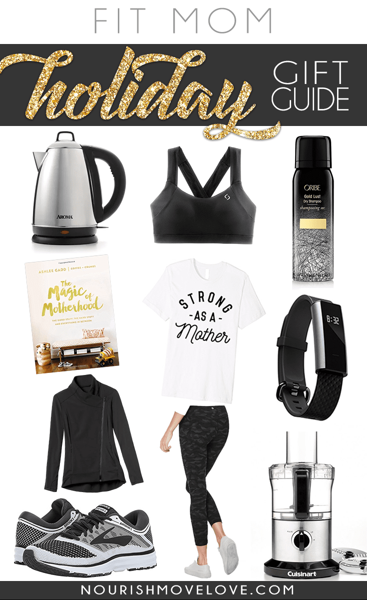 Fit Mom Holiday Gift Guide | www.nourishmovelove.com