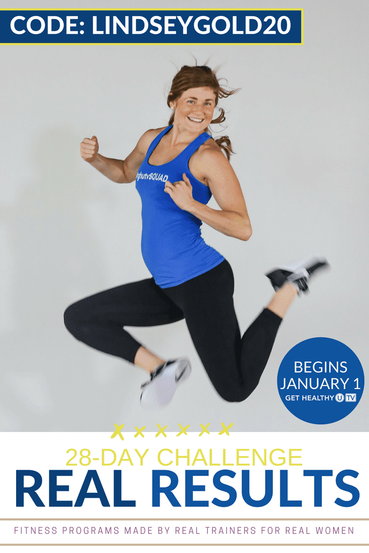 Real Results Workout Challenge | www.nourishmovelove.com
