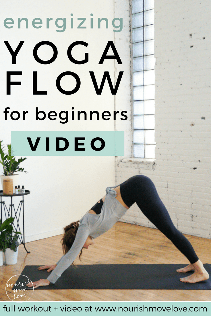 Yoga Flow for Beginners | www.nourishmovelove.com