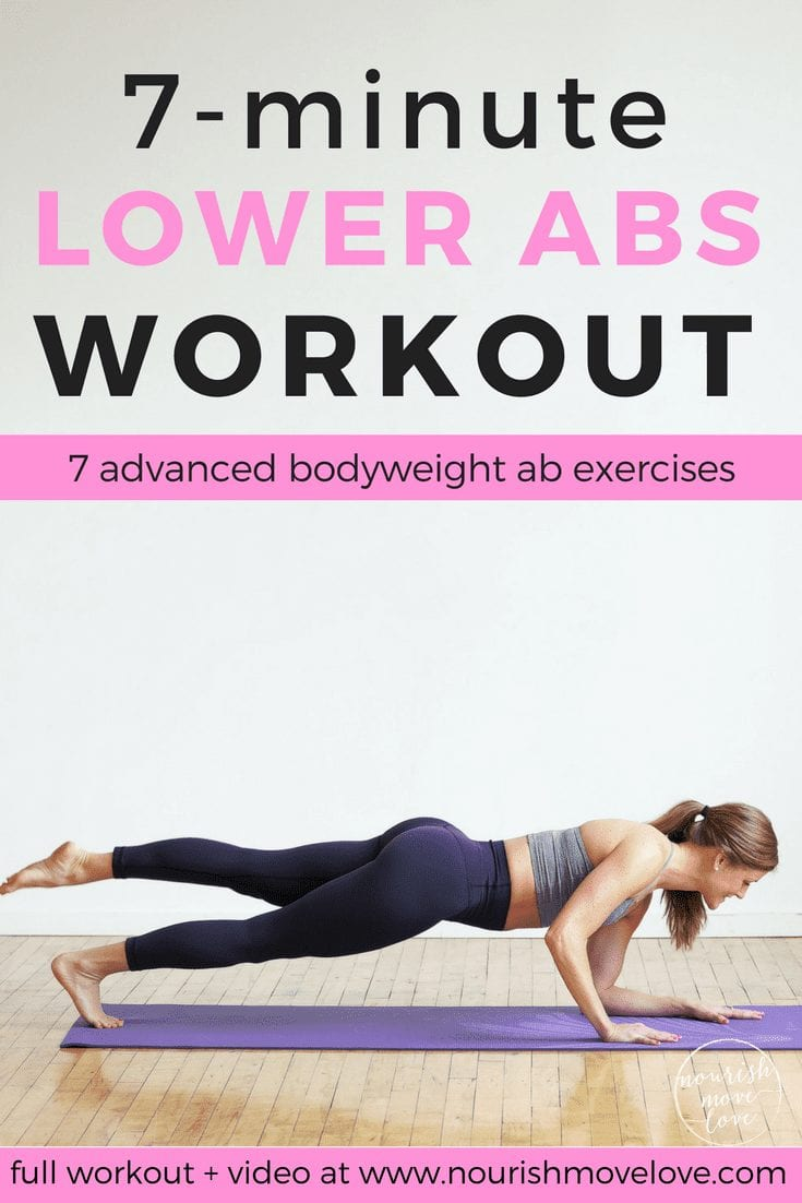 7-Minute Abs | 7 minute ab workout | ab workouts for women | core workouts for women | lower ab workouts for women
