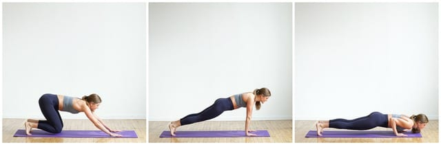 plank launcher push up exercise