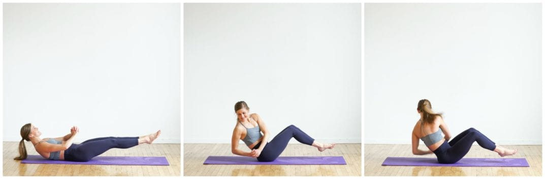 How to do a Reverse Crunch ab exercise