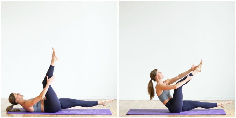 split leg climb ab exercise