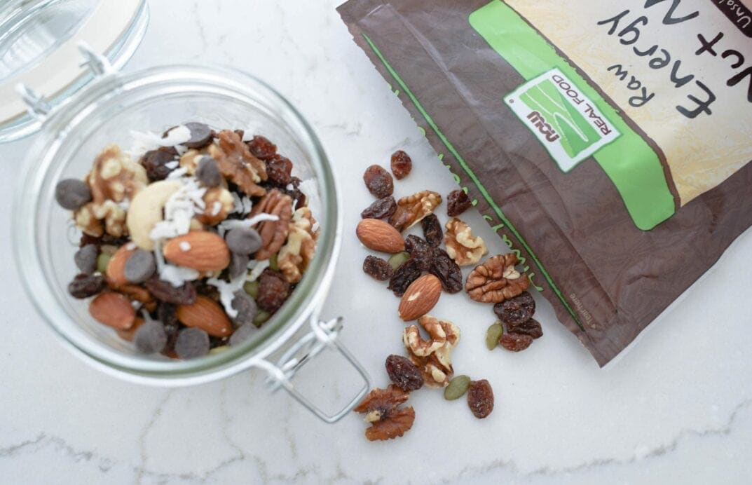 Nuts, Trail Mix, Dried Fruit