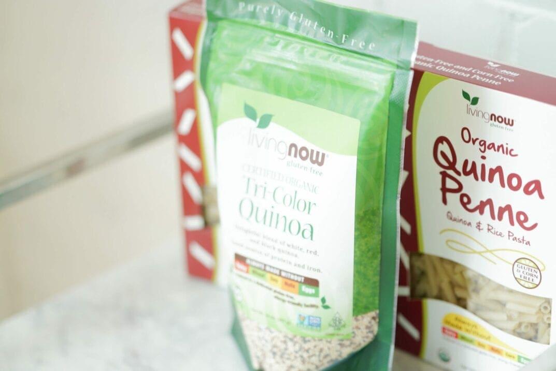 Quinoa and Quinoa Pasta