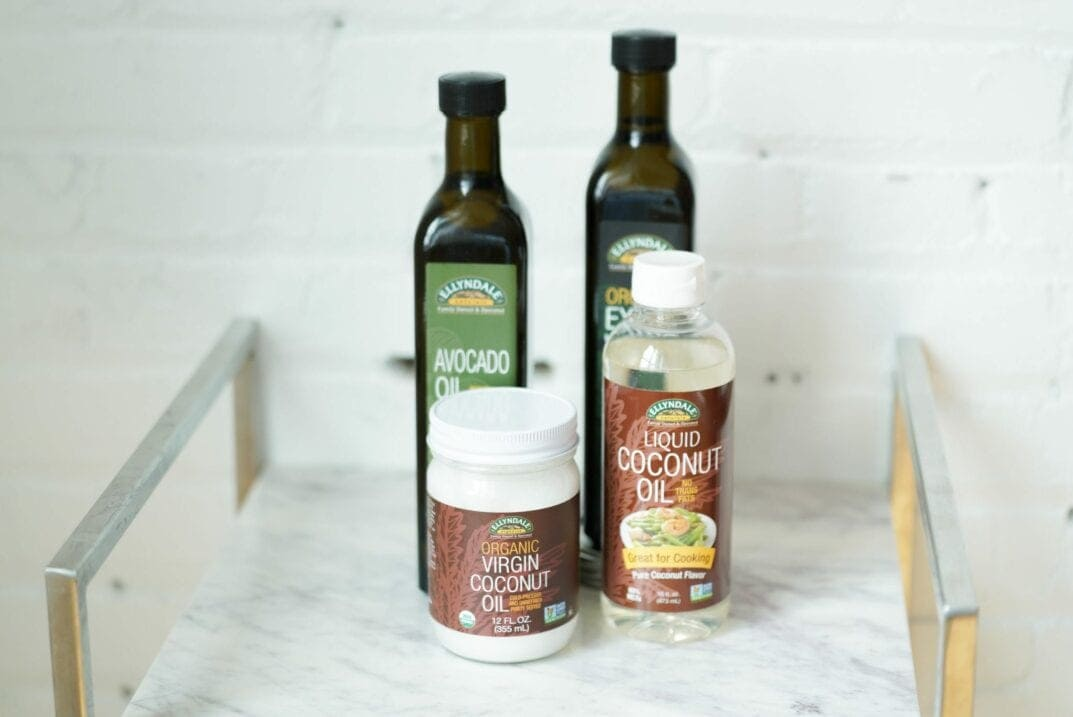 Cooking Oils Avocado Oil, Olive Oil, Coconut Oil