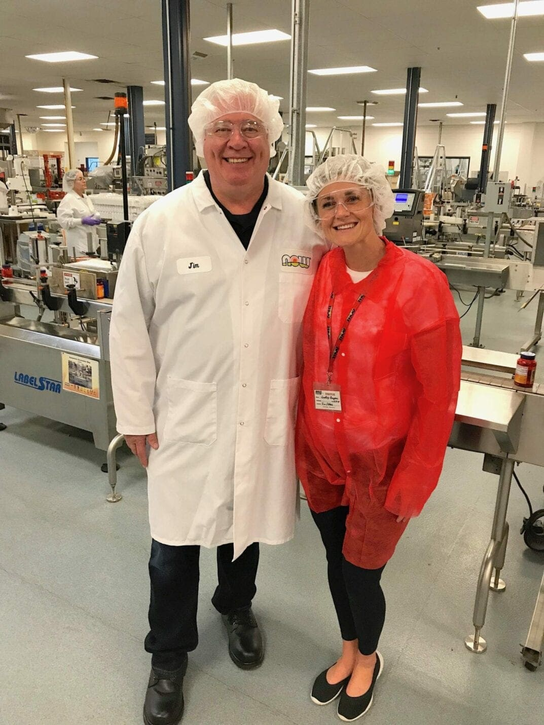 Photo with Jim Emme, NOW Foods CEO