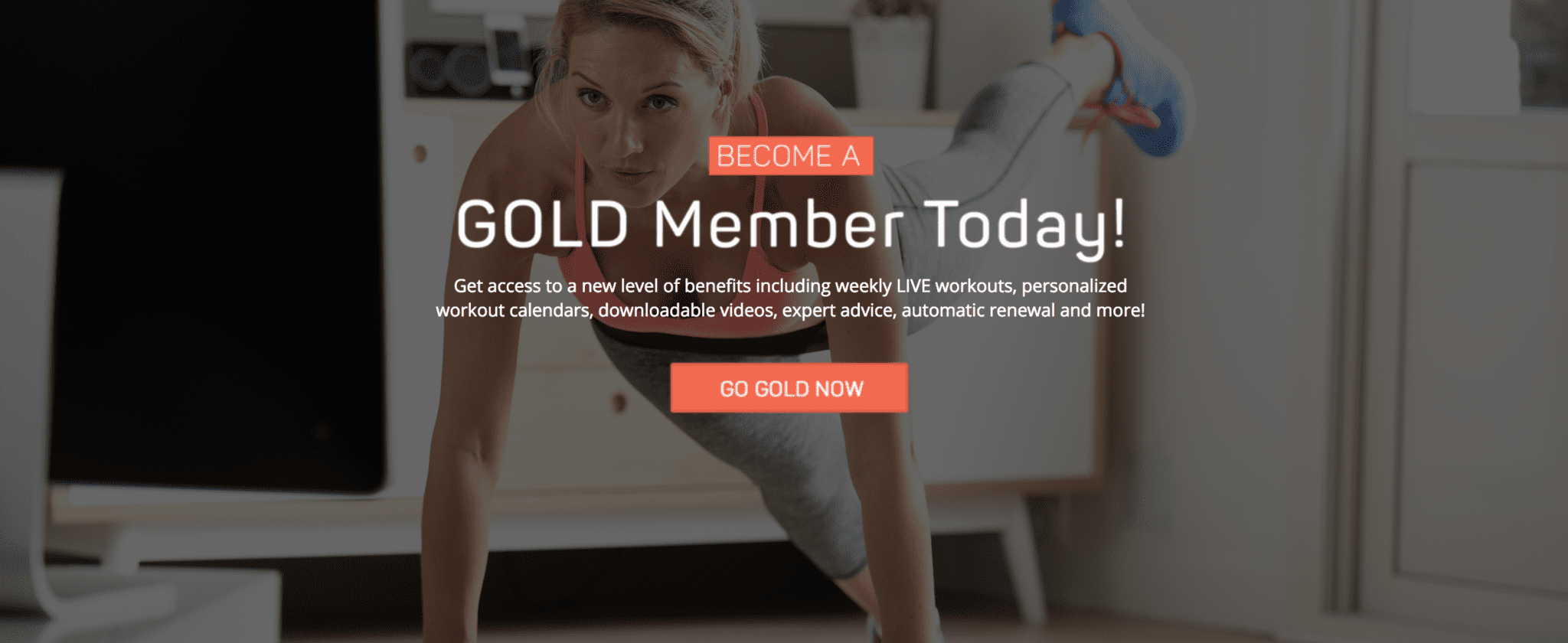 Get Healthy U TV Gold Member
