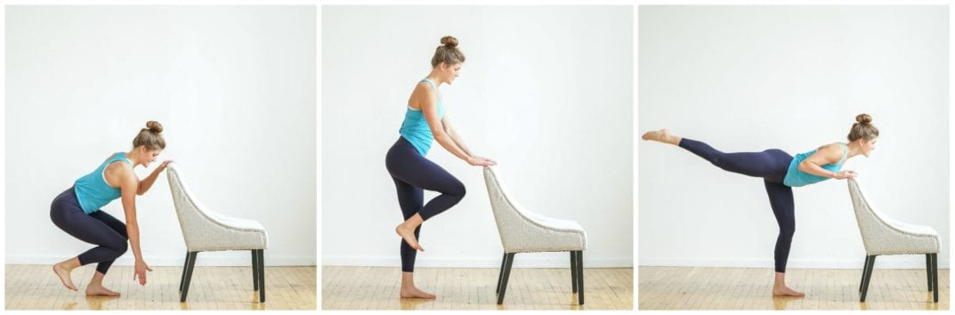 6 Glute Toning Barre Moves + Home Barre Workout | Nourish ...