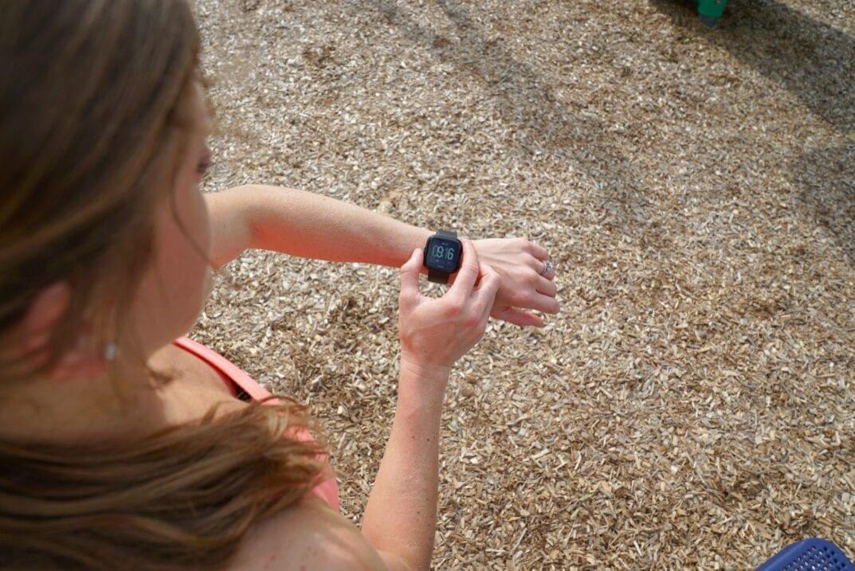 Fitbit Versa Touchscreen Smart Watch