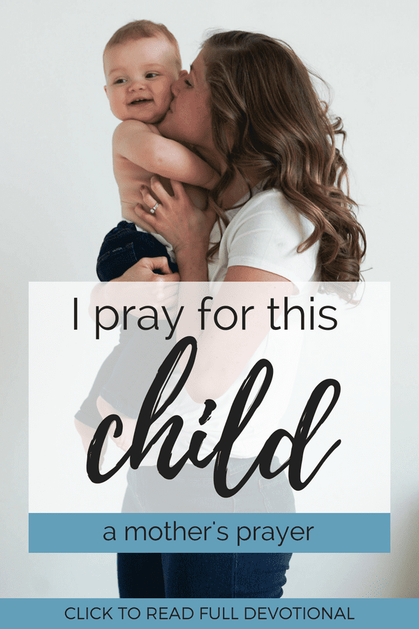 Mother's Prayer for Her Child