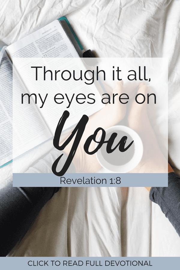 Revelations 1:8 Devotional