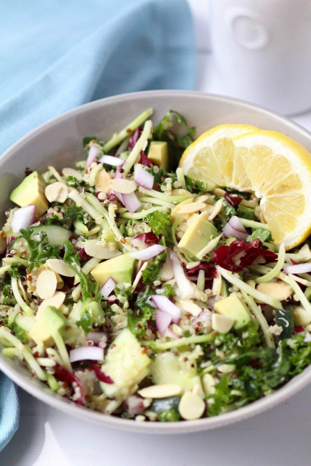 Quinoa Salad| 8 healthy bbq side dishes | www.nourishmovelove.com