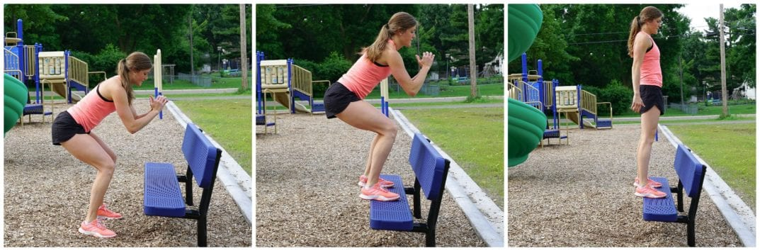 Bench Jumps | Bench Workout