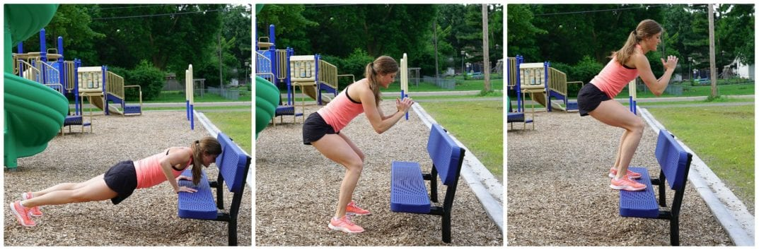 Burpee Complex | Bench Workout
