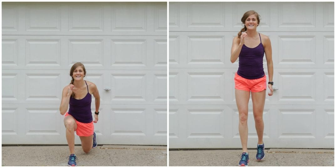 Runner Lunges