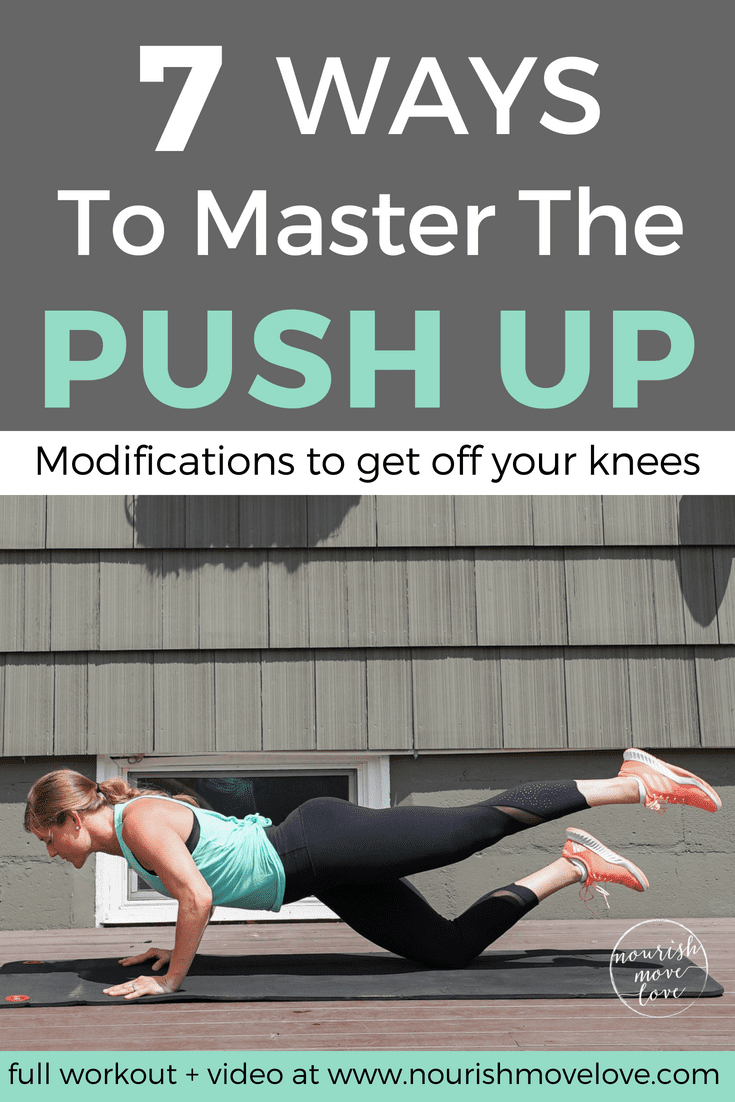 7 Push Up Modifications