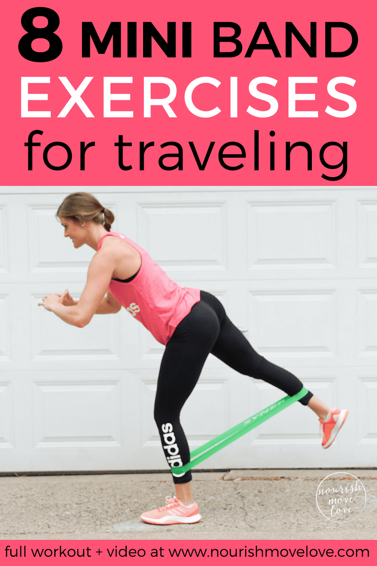 8 Resistance Band Exercises for Traveling