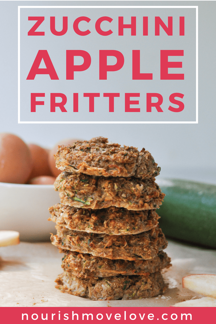 Zucchini Apple Fritters Recipe