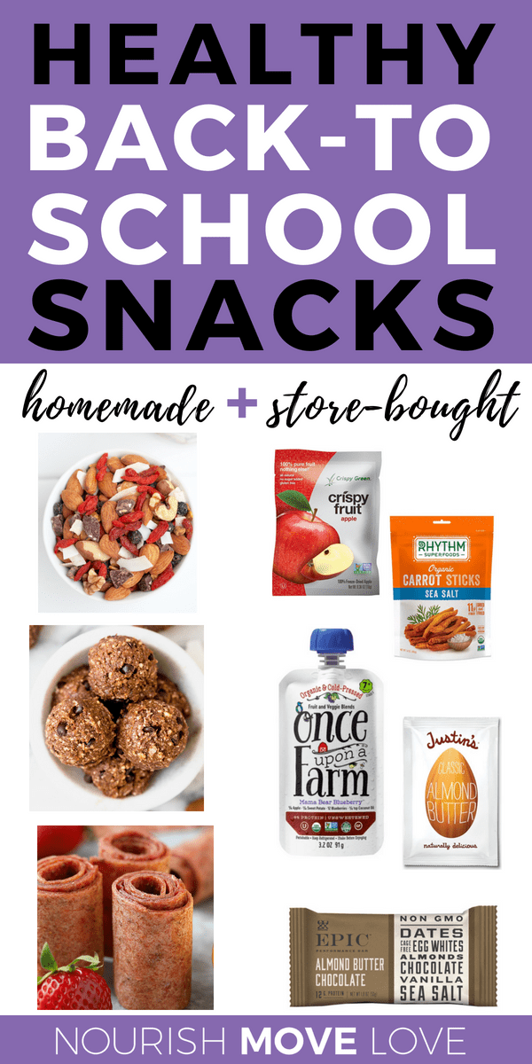 15 Healthy Packable Snacks Homemade and Store-Bought | Kid Approved Snacks | Back To School Snacks