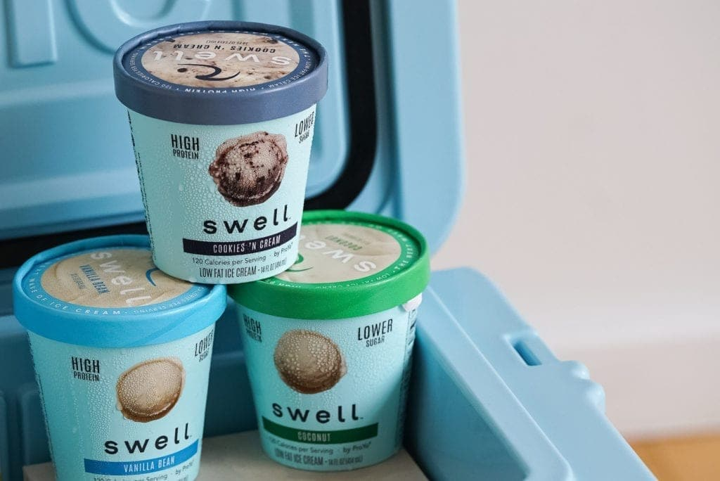 Swell Protein-Packed Ice Cream