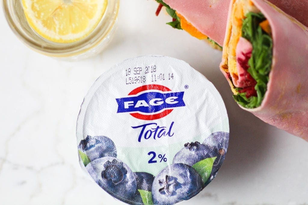 What a Food Pro Eats | FAGE Split Cups | Healthy Lunch