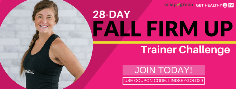 Fall Firm Up | Workout Calendar | Workout Video | Workout Challenge