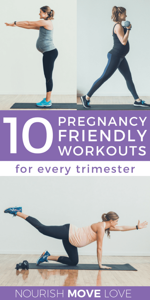 The 10 Best Prenatal + Pregnancy Workouts | Fit Pregnancy | Baby Bump | Fitness