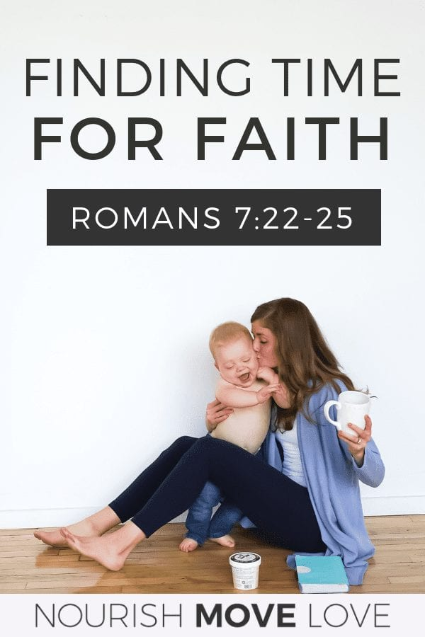 Weekly Devotional | finding time for faith | Bible Study for Moms