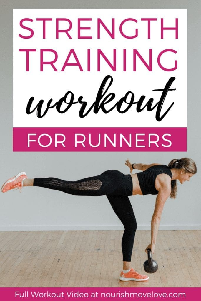 Strength Training for Runners | Workout for Runners | Kettlebell Workout for Runners | 20 Minute Kettlebell Workout