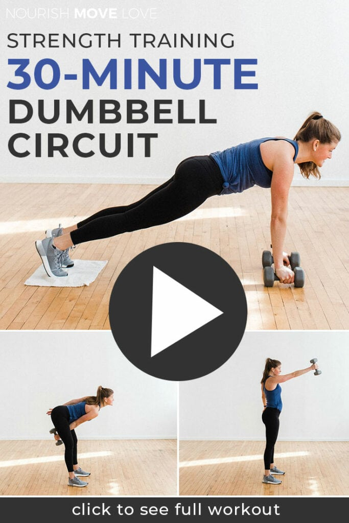 Strength Training: 30 Minute Circuit Workout At Home