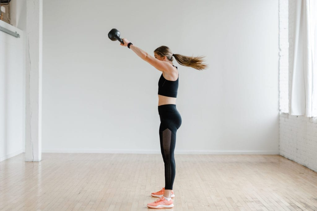 Kettlebell Swing | Russian Kettlebell Swing | Best Kettlebell Exercises for Runners | 20 Minute Kettlebell Workout