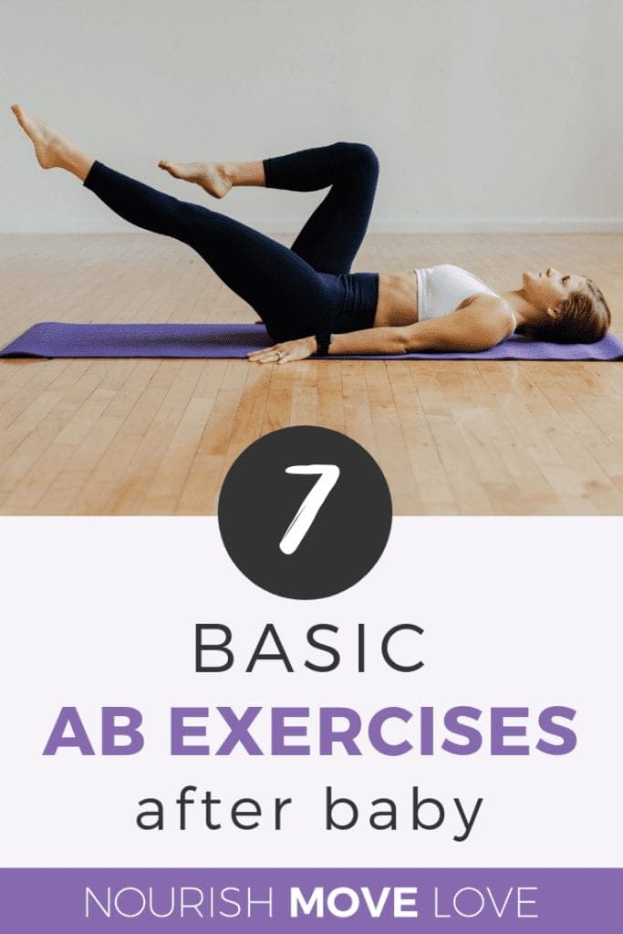 7 Basic Ab Exercises After Baby