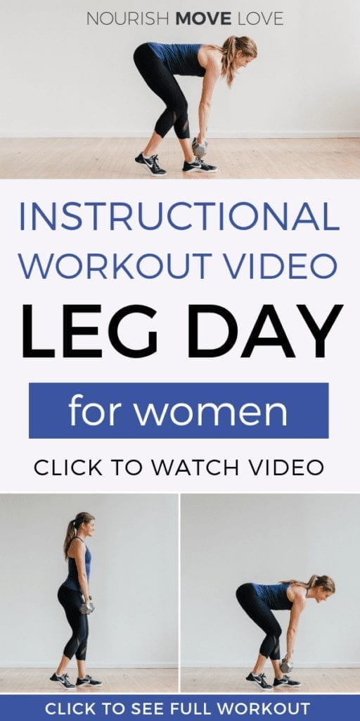 30-Minute Leg Workout At-Home | Workout Video | Lower Body Workout Video | At Home Workout