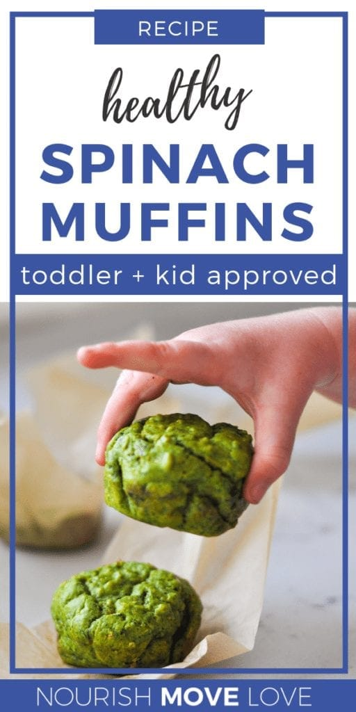 Savory Spinach Muffins | Kid-Approved | Veggie Muffins | Recipe for Toddlers | Meal Prep Muffins