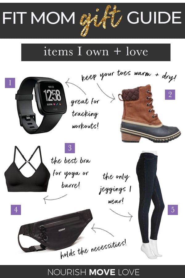 Holiday Gift Guide for Women | Fit Mom Gift Guide | Best gifts for women | Best Fitness Gifts for Women