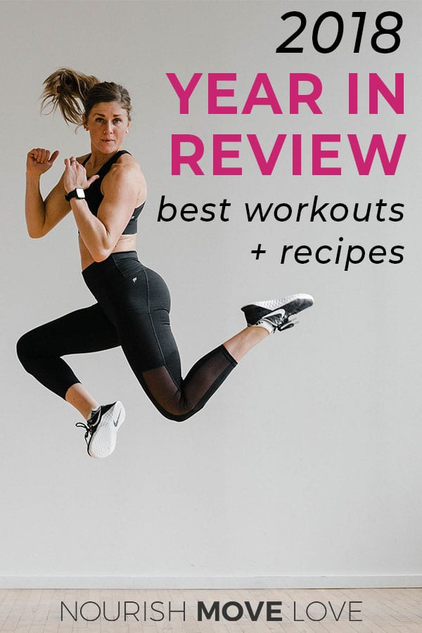 Best workouts of the year | 2018 best workouts | 2018 best recipes |