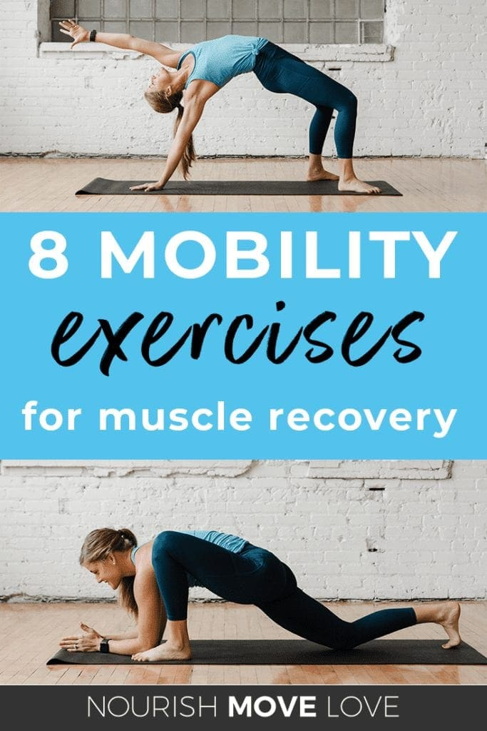 8 Mobility Exercises for Muscle Recovery | Mobility Workout | Post Workout Cool Down | Stretch