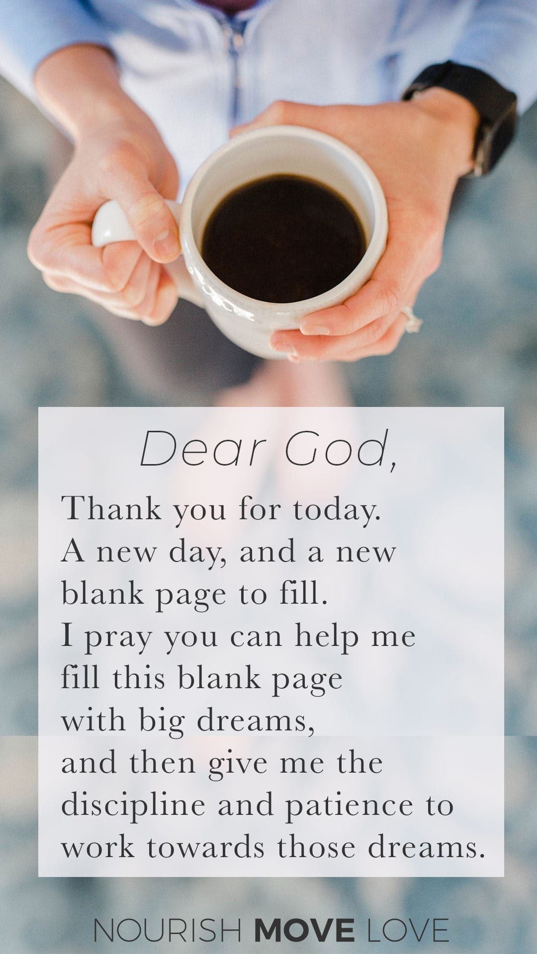Devotional: Dreams and Goals {Psalm 118:24} - Nourish, Move