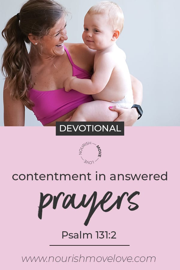 prayer for gratitude | answered prayers | weekly devotional